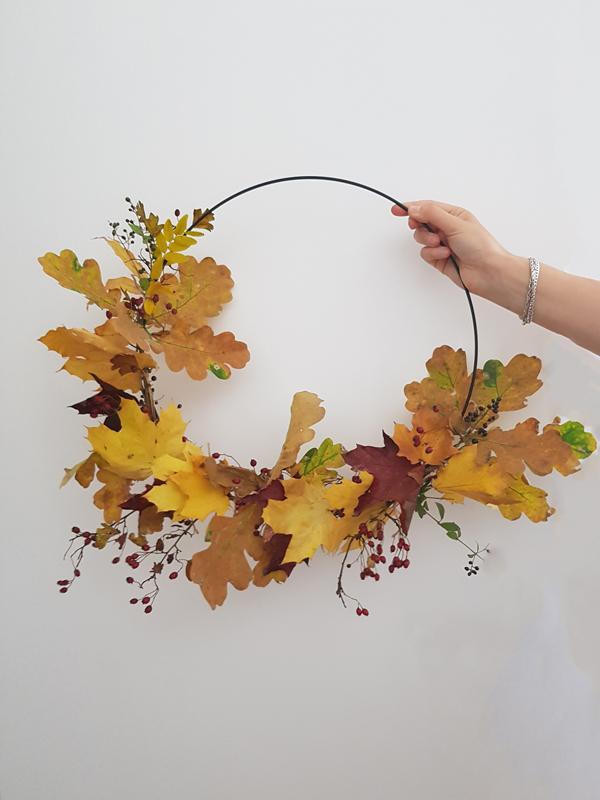 couronne automne inspiration