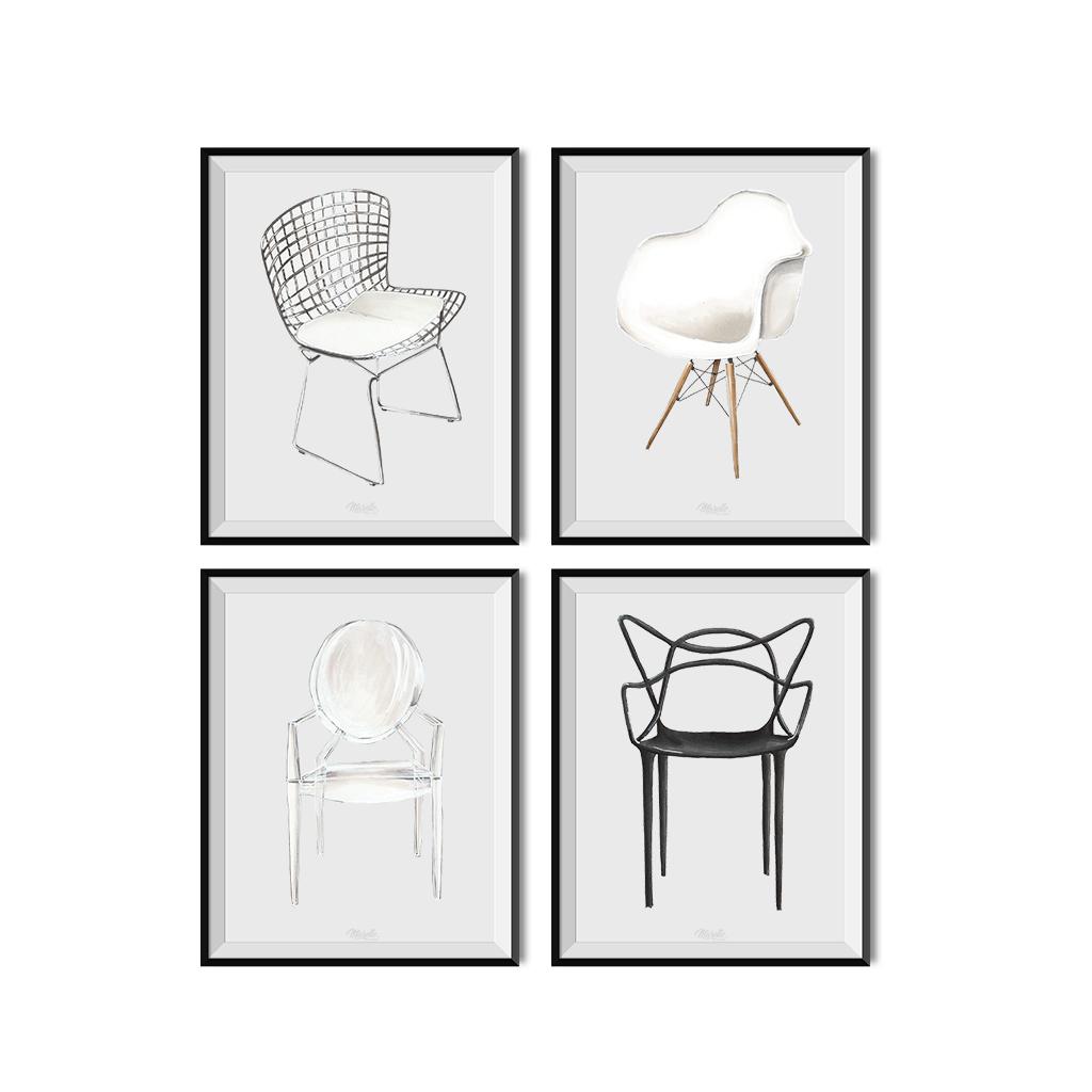 Fauteuil Louis Ghost De Philippe Starck ghost-3 - marelle déco design