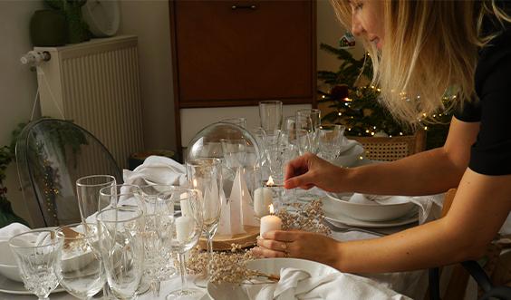 Deux décorations de table pour les fêtes #1