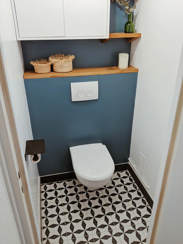 WC 2 réalisation